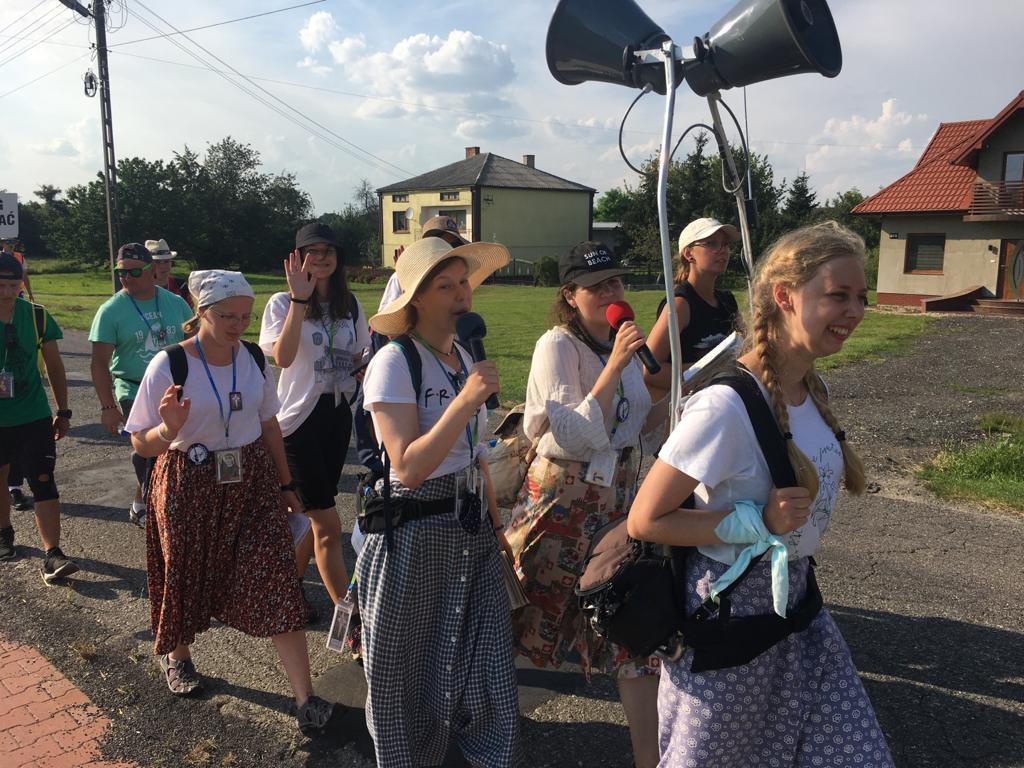 Na pielgrzymim szlaku do Jasnogórskiej Pani Dzień 11 i 12. A.D. 2020